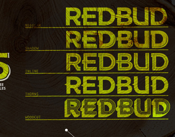 2.Free Font Of The Day  Redbud