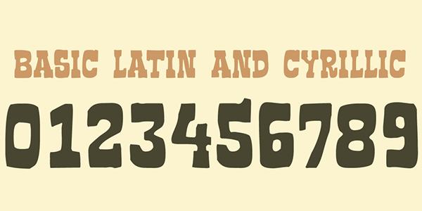 2.Free Font Of The Day  Vaquero FF