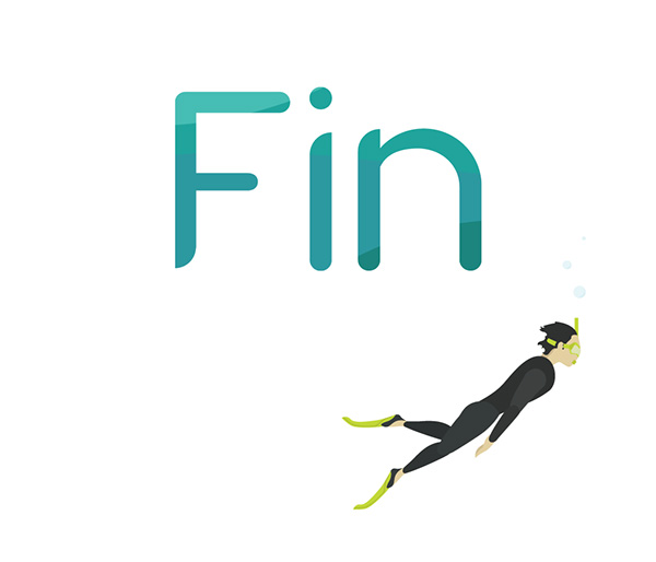 3.Free Font Of The Day  Fins