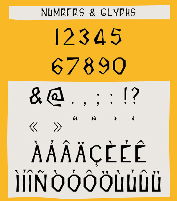 3.Free Font Of The Day  INCISE