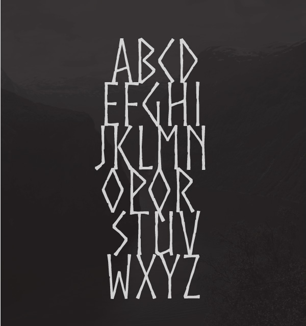 3.Free Font Of The Day  Norse