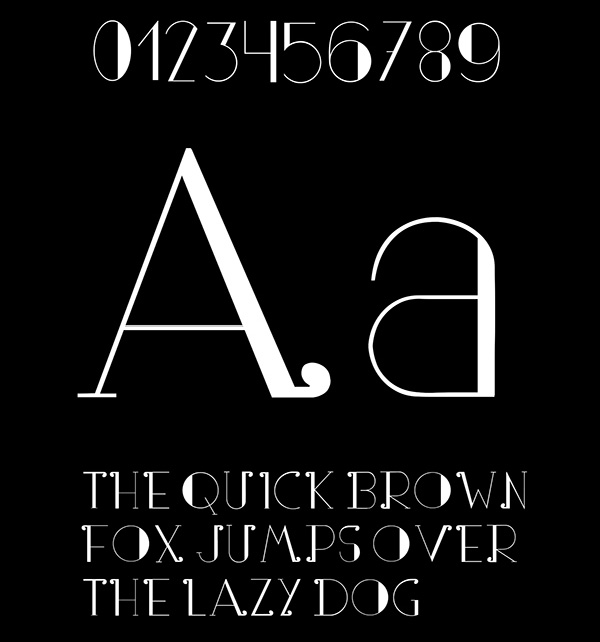 3.Free Font Of The Day  Partout