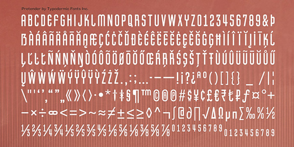 3.Free Font Of The Day  Pretender