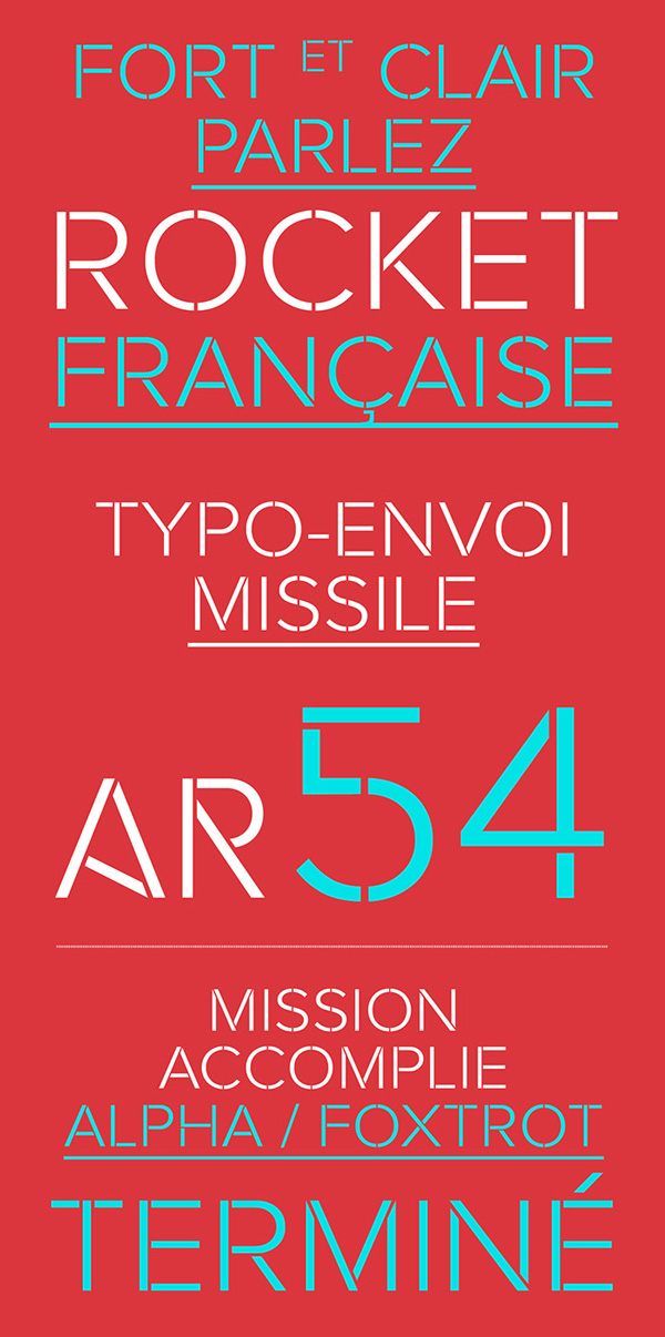 3.Free Font Of The Day  Rafale
