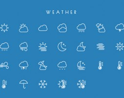 3.free vector line icons