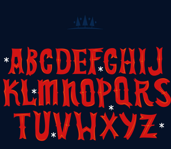 4.Free Font Of The Day  Christmas Time