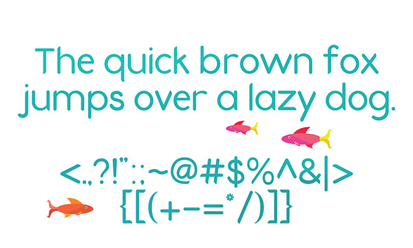 4.Free Font Of The Day  Fins