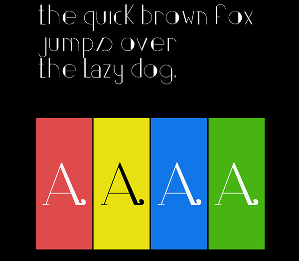 4.Free Font Of The Day  Partout