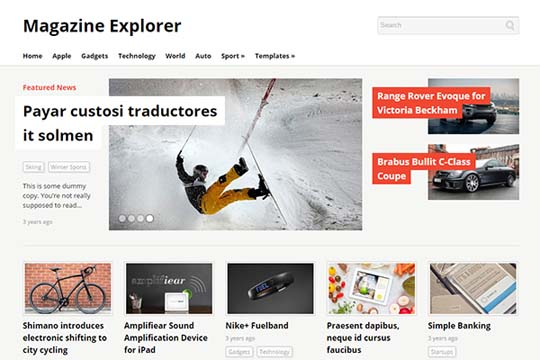 MagazineExplorer