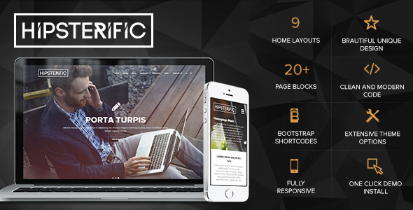 Responsive Multi-Purpose WP Theme