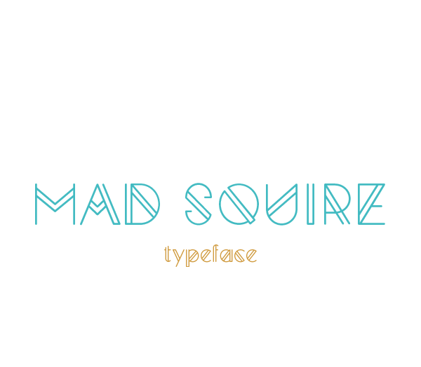 1.Free Font Of The Day  Mad Squire