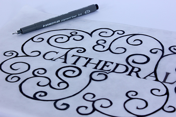 2.Free Font Of Of The Day  Cathedral