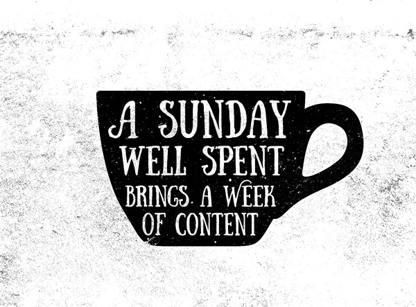 2.Free Font Of Of The Day  Sunday