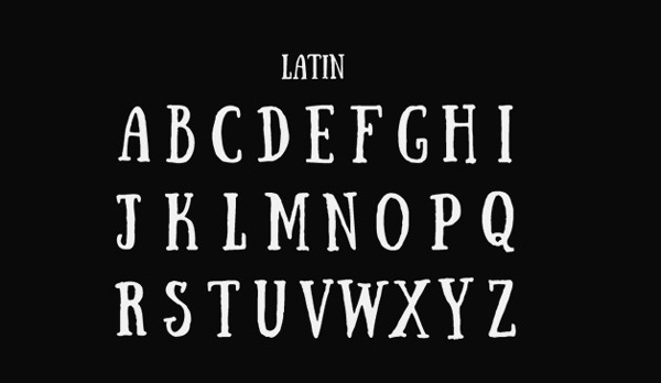 3.Free Font Of Of The Day  Sunday