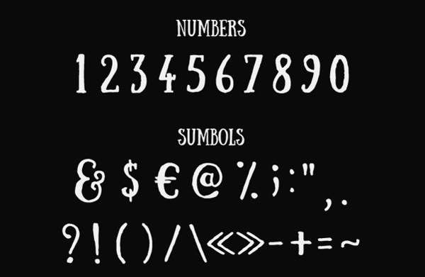 5.Free Font Of Of The Day  Sunday