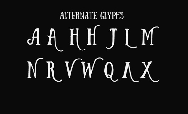 6.Free Font Of Of The Day  Sunday