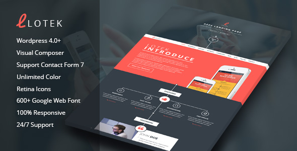 App-Landing-Page-Wordpress-Theme