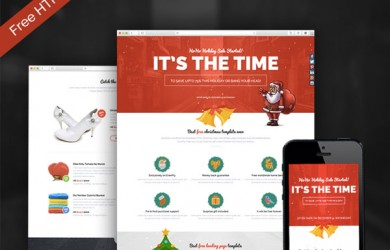 Bootstrap-Responsive-HTML-Christmas-sales-and-affiliate-page-template
