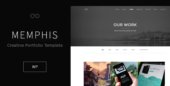 Minimal Creative WordPress Theme