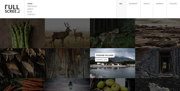 Photography Portfolio HTML5 template