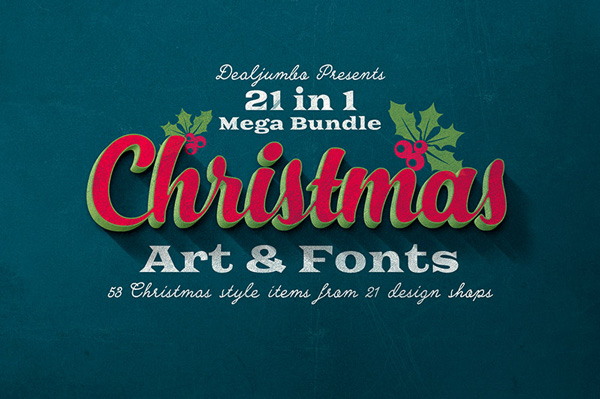 christmas-art-and-fonts