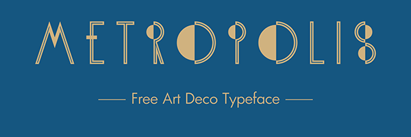 1.Free Font Of The Day  KH-Metropolis