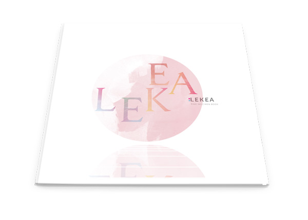 1.Free Font Of The Day  Lekea