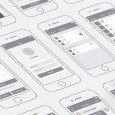 1.iPhone App Wireframing Kit