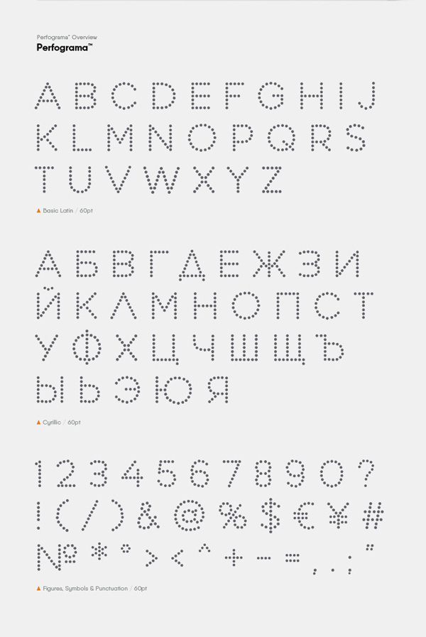 2.Free Font Of The Day  Perfograma