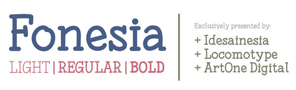 3.Free Font Of The Day  Fonesia