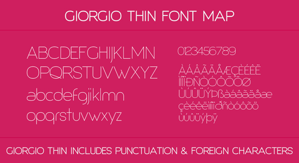3.Free Font Of The Day  Giorgio