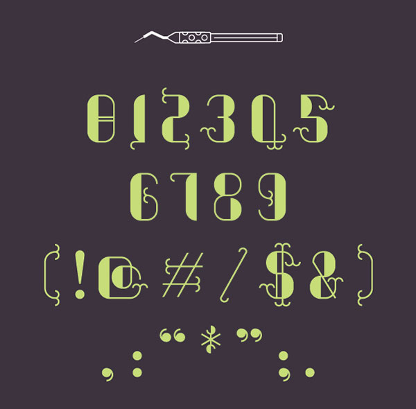 3.Free Font Of The Day  Grafter