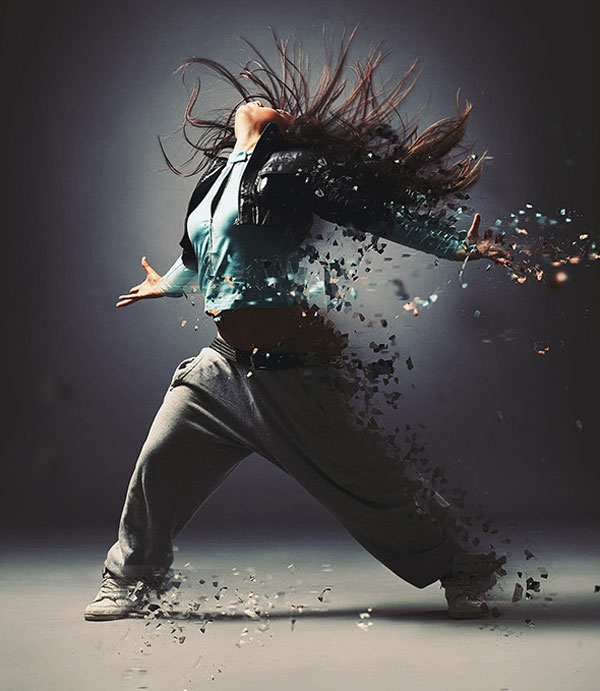 4.Dispersion Photoshop Action
