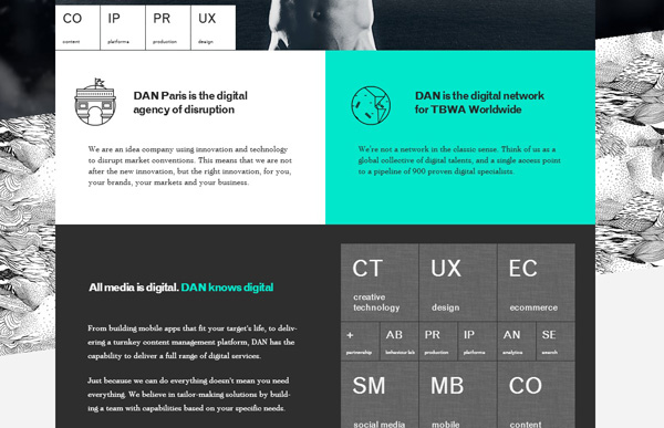 5.design agency website