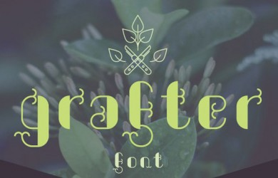 6.Free Font Of The Day  Grafter