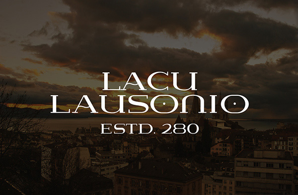 1.Free Font Of The Day  Lausanne