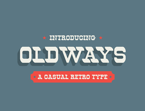 1.Free Font Of The Day  Oldways