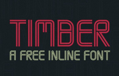 1.Free Font Of The Day  Timber