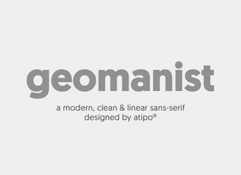 1.Free Font Of The Day  geomanist
