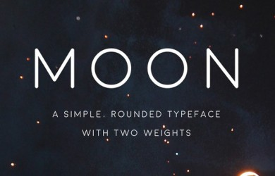 4.Free Font Of The Day  Moon