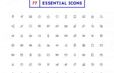 77_Essential_Icons
