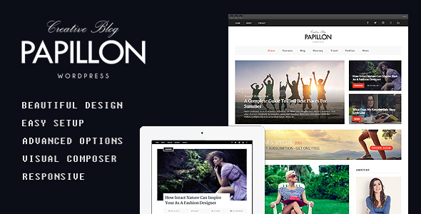 Creative-WordPress-Blog-Theme