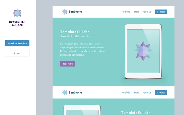 newsletter-template-builder