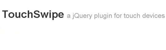 touchswipe-jquery-plugin