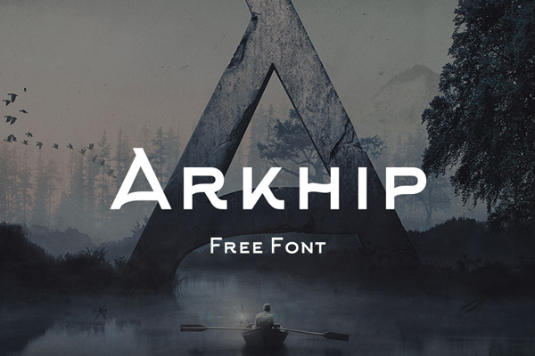 1.Free Font Of The Day  Arkhip