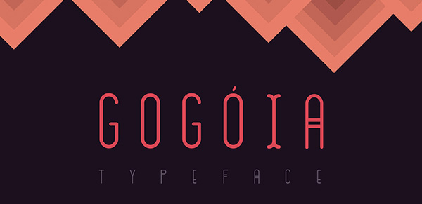 1.Free Font Of The Day  Gogóia