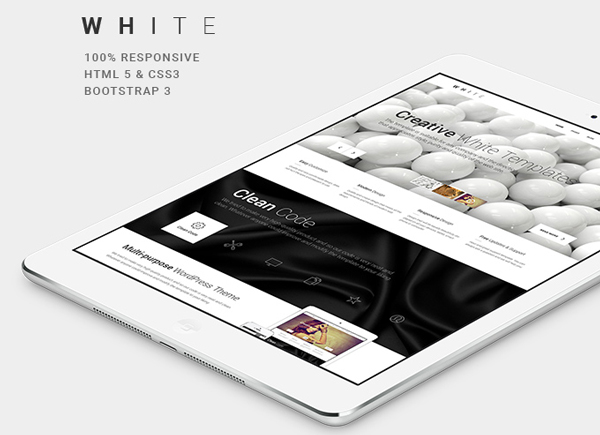 1.Responsive One Page HTML5CSS3  Theme