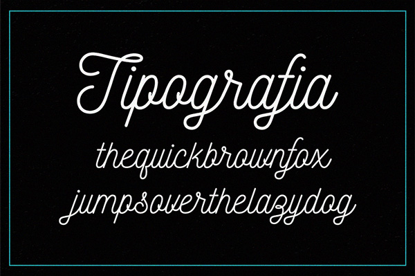 2.Free Font Of The Day  Nickainley