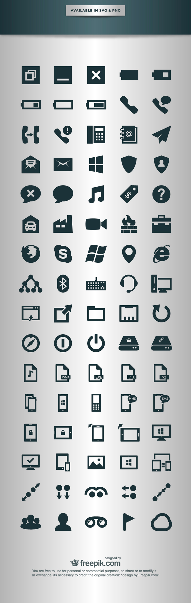 2.Phone Operating System Icons