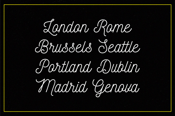 4.Free Font Of The Day  Nickainley